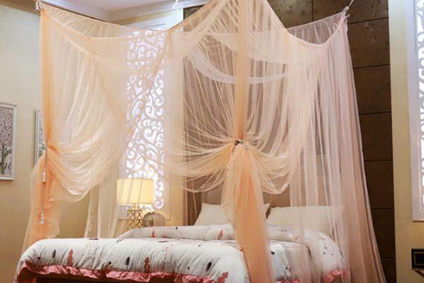 Những mẫu màn, mùng ngủ dành cho homestay tuyệt đẹp
