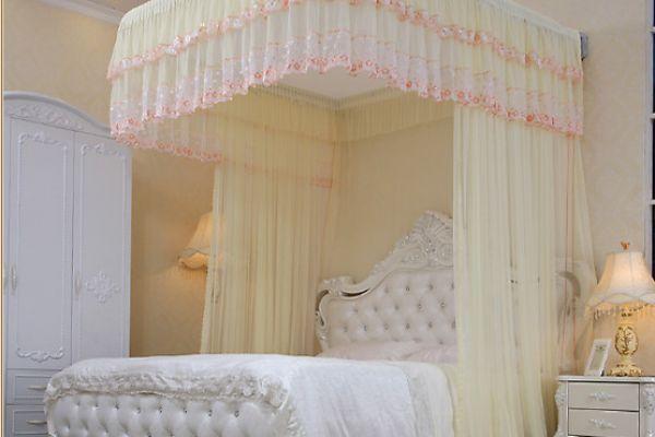 Những mẫu màn ngủ, mùng khung dành cho phòng ngủ biệt thự tuyệt đẹp